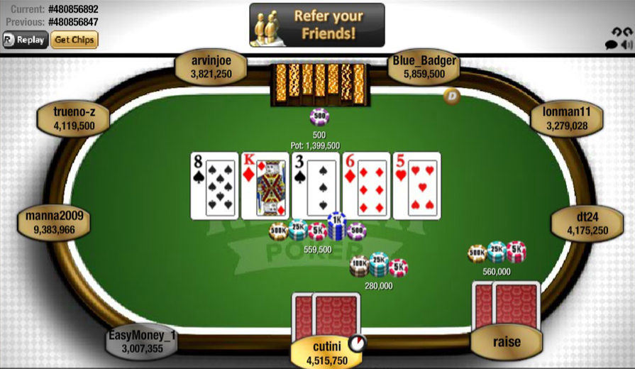Play Poker For Fun